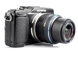 Olympus PEN E-PL2 lens