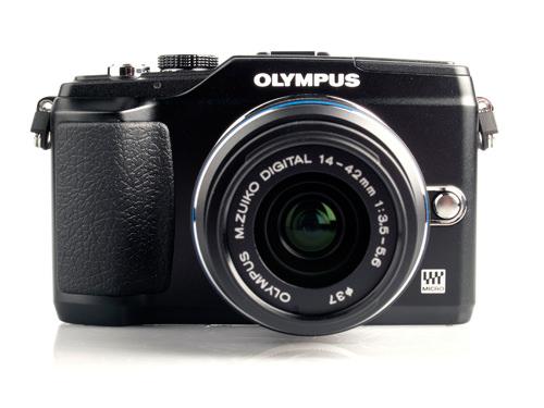 Olympus PEN E-PL2 front