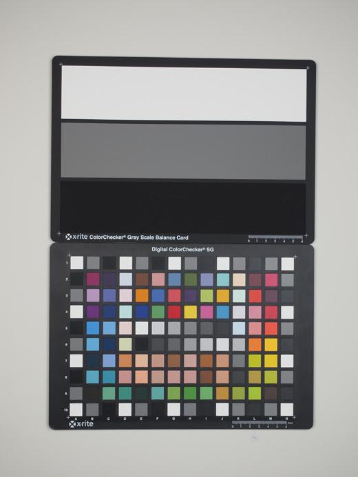 Olympus PEN E-PL2 Test chart ISO200