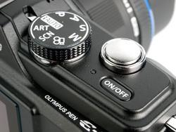 Olympus PEN E-PL2 mode dial