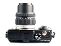 Olympus PEN E-PL2 top