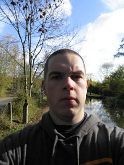 Olympus FE-4050 self portrait