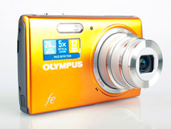 Olympus FE-5040 front and lens
