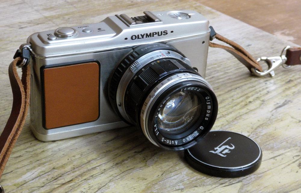 Olympus Pen Ep1 Pen F Lens