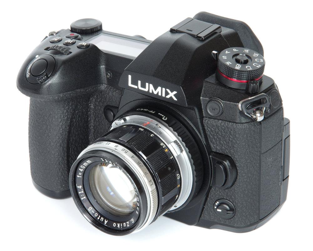 Olympus G Zuiko 40mm F1,4 On Lumix G9