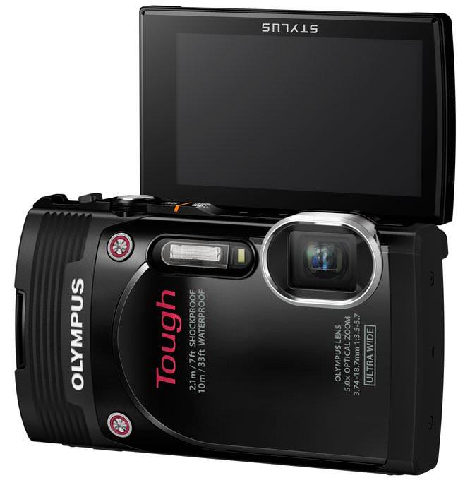 TG 850 Black LCD Up No Image