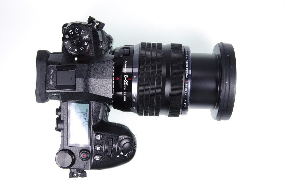 Olympus M. Zuiko 8-25mm f/4.0 PRO