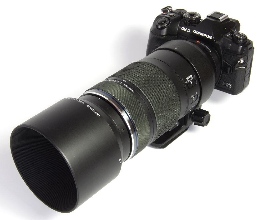Olympus 100 400mm With Hood On Olympus Em1 MkIII