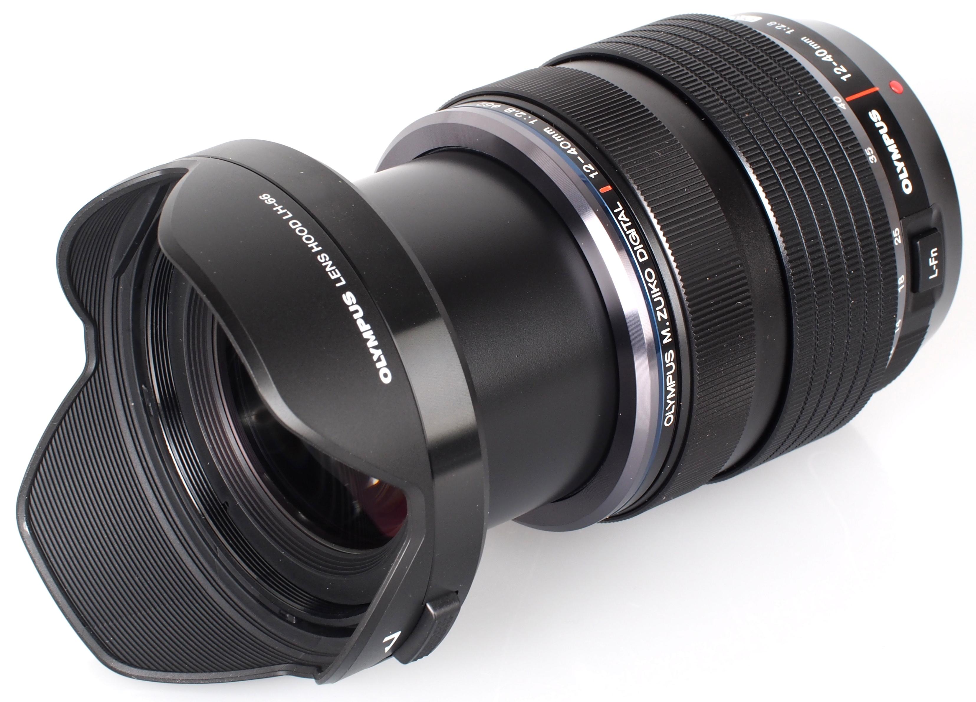 Olympus Digital Camera M.ZUIKO DIGITAL ED 12-40mm F2.8 PRO Lens XP