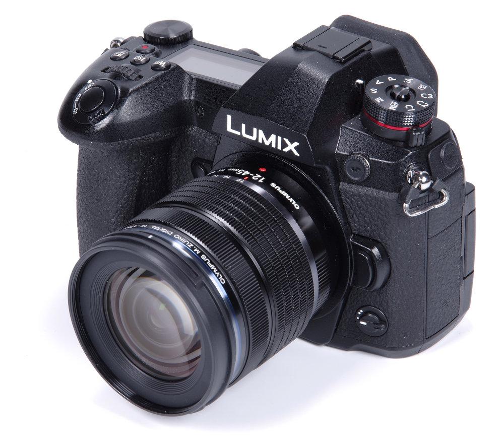 Olympus M Zuiko 12 45mm F4 PRO On Lumix G9