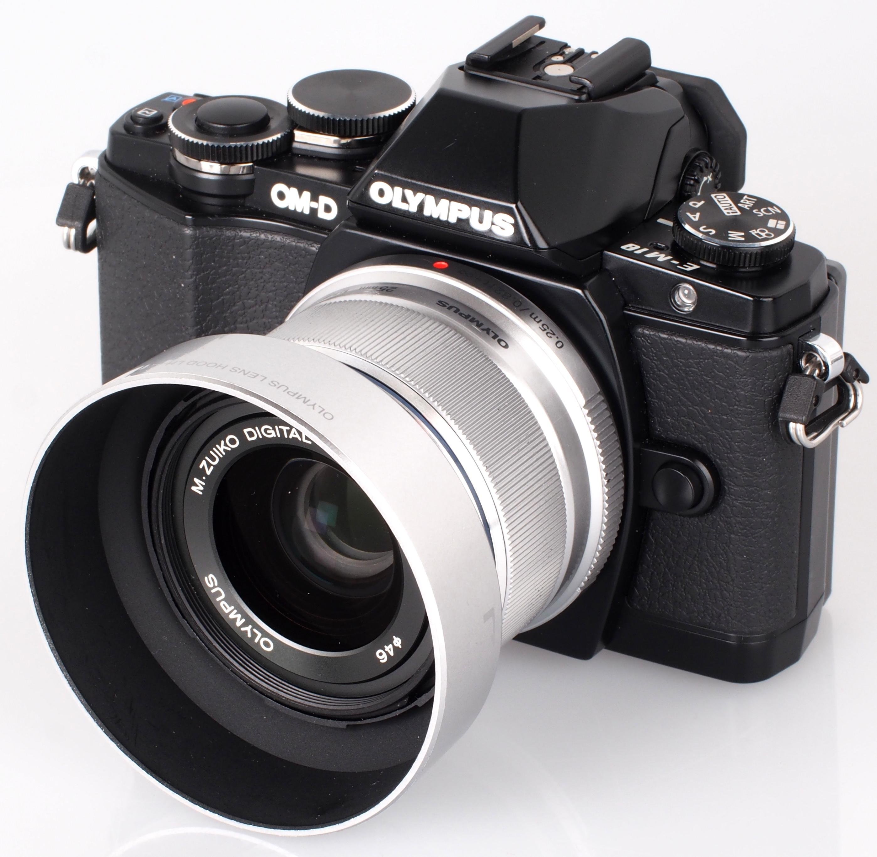 Olympus Zuiko Digitale 25mm M. Obiettivo f/1.8 (Nero)   eBay