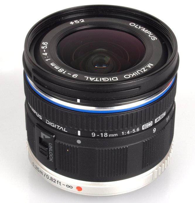 Olympus M. Zuiko Digital ED 9-18mm f/4.0-5.6