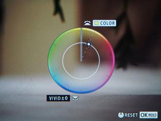 Olympus OM D E M1 Colour Creator