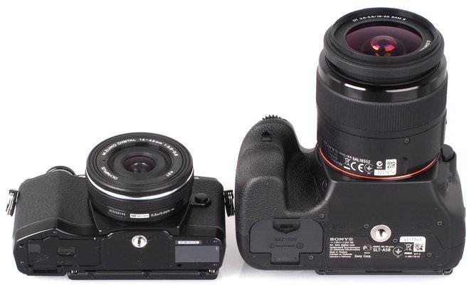 Olympus OM D E M10 Vs DSLR Sony Alpha A58 (10)