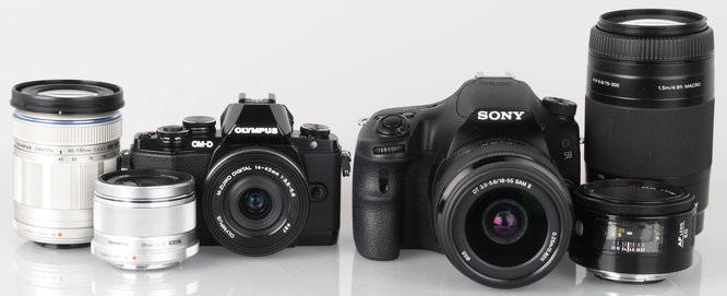 Olympus OM D E M10 With Lenses Sony DSLR Lenses (9)