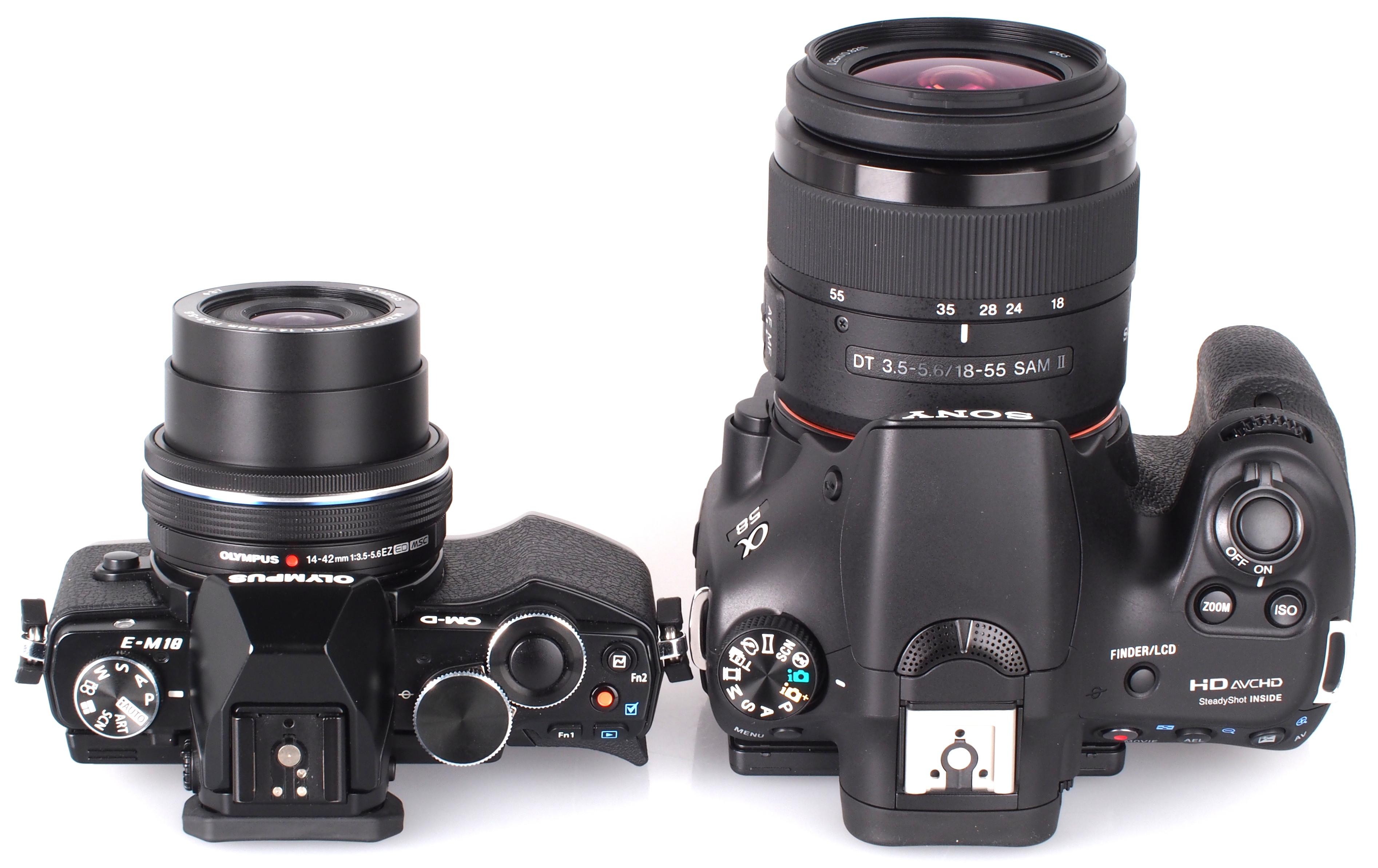 Camera Digital Camera Like Dslr digital camera vs slr best reviews olympus om d e m10 mirrorless sony alpha a58 dslr