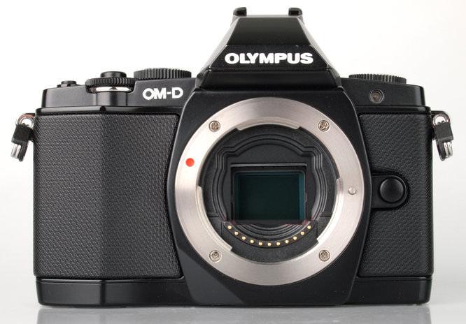 Olympus OM-D E-M5 Front sensor