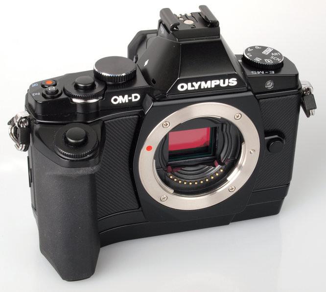 Olympus OM-D E-M5 Front Grip Part1