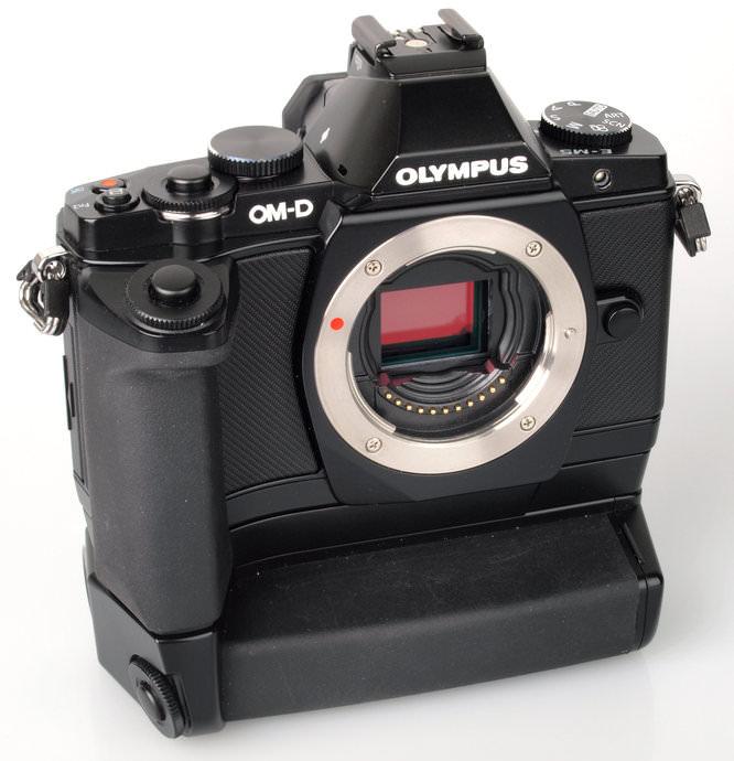 Olympus OM-D E-M5 Front Grip Part2