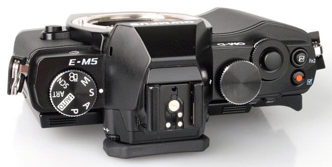 Olympus OM-D E-M5 Top