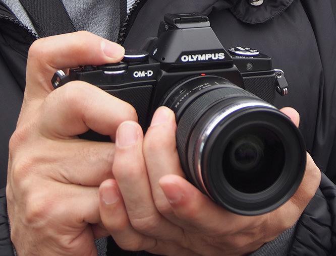 Olympus OM-D E-M5 In Black