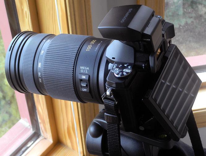 Olympus OM-D E-M5 with Panasonic 100-300mm Lens