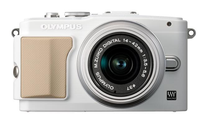 Olympus Pen Lite E-PL5 White Front