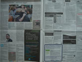 Newspaper Resolution test - 1/25 sec | f/3.5 | 14.0 mm | ISO 100