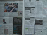Newspaper Resolution test - 1/30 sec | f/3.5 | 14.0 mm | ISO 100