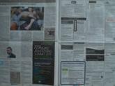Newspaper Resolution test - 0.3 sec | f/11.0 | 14.0 mm | ISO 100
