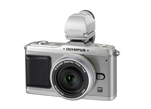 Olympus Pen E-P2 in Silver