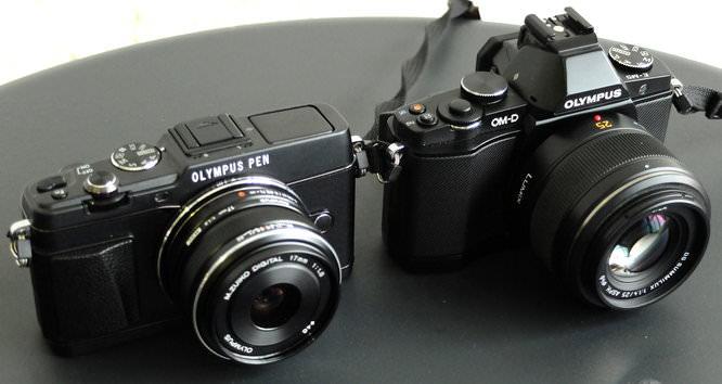 Olympus PEN E P5 Vs Olympus OM D E M5 (1)