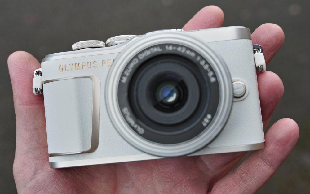 Olympus PEN E PL10 White (2)