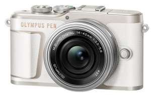 Olympus Pen E-PL10 With A Flip-Down Screen