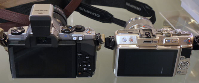 Olympus PEN E-PL5 vs Olympus OM-D E-M5 Preview