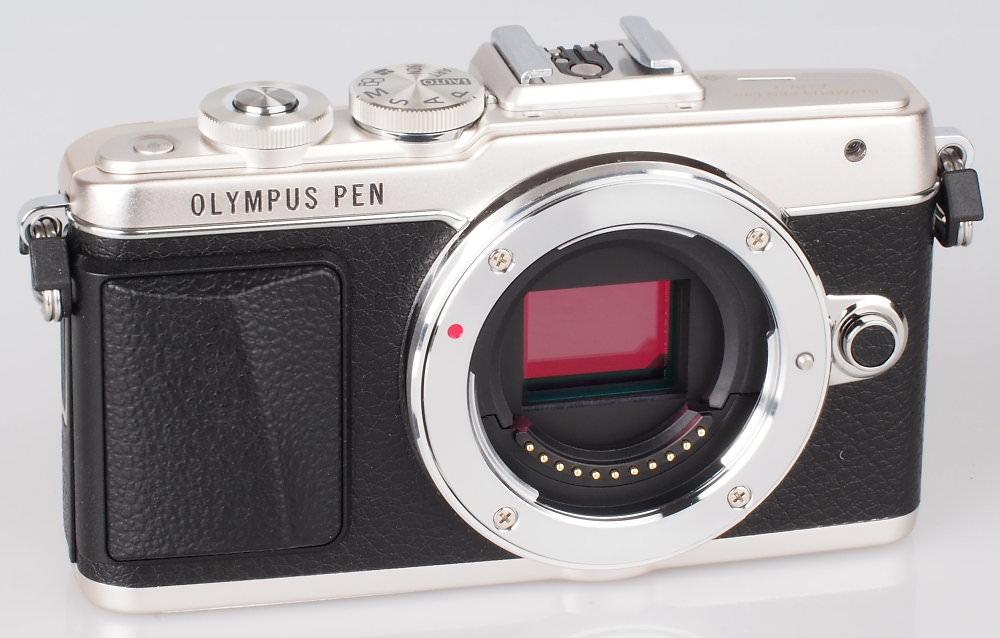 Olympus PEN Lite E PL7 Silver (13)