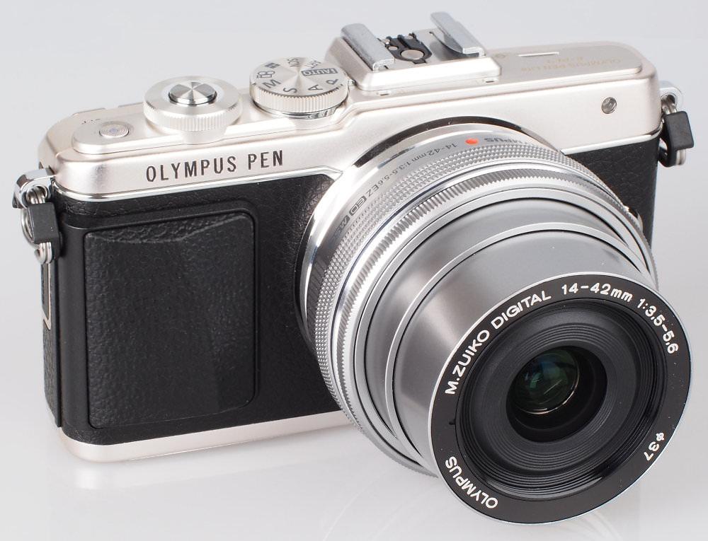 Olympus PEN Lite E PL7 Silver (5)