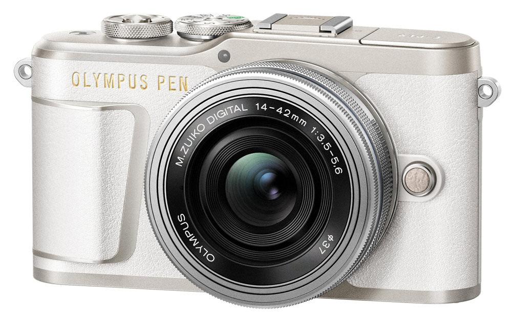 PEN E PL9 EZ M1442EZ White Silver  Product 010