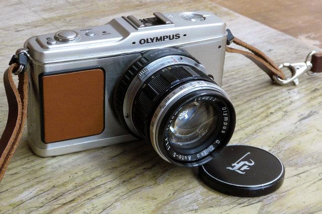 Olympus G.Zuiko 40mm f/1.4 Vintage Lens