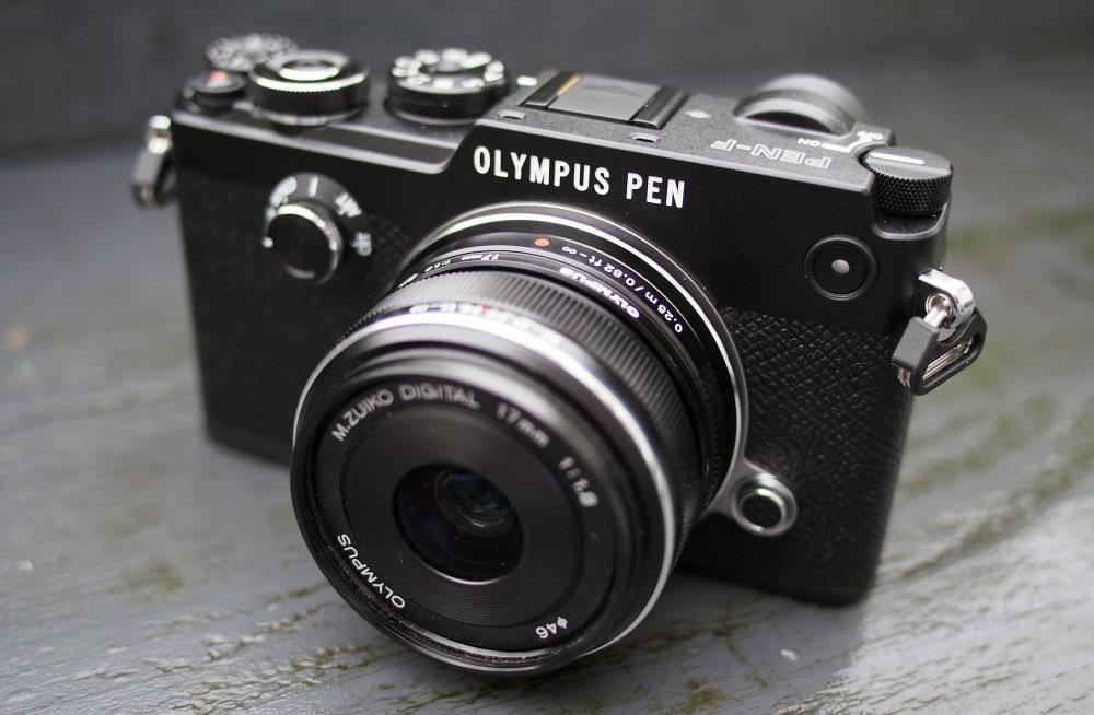 Olympus PEN F Black (3)