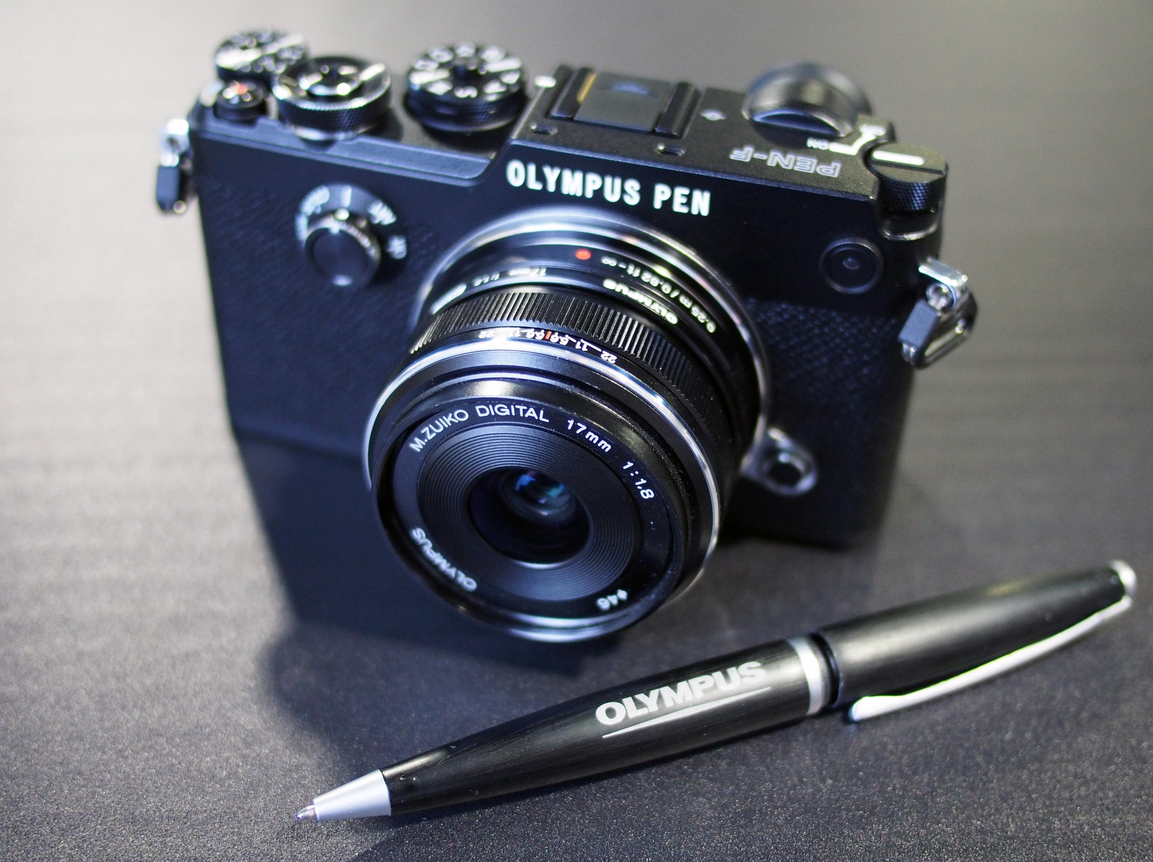 olympus pen f full review