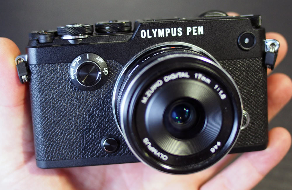 Olympus PEN F Black (6)