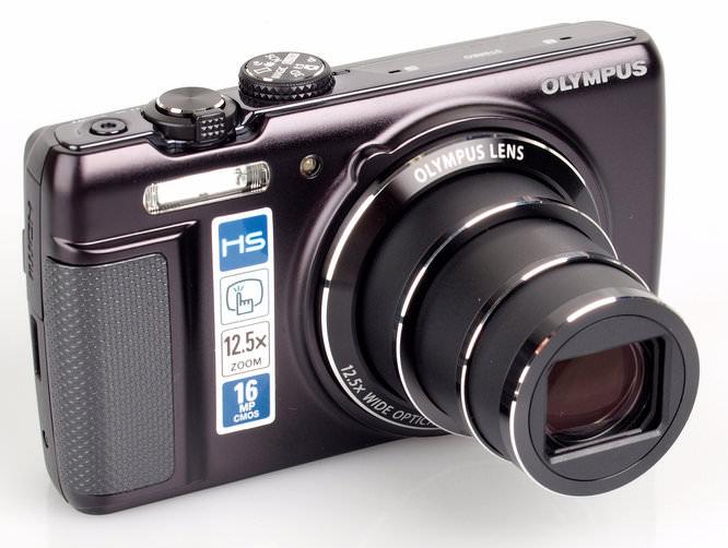 Olympus SH-21 lens extended