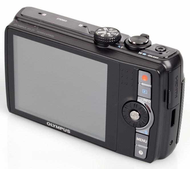Olympus SH-21 screen