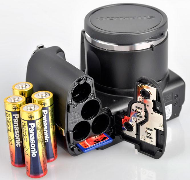 Olympus SP-610UZ batteries