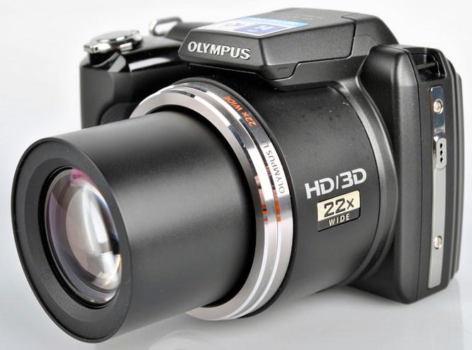 Olympus SP-610UZ lens extended