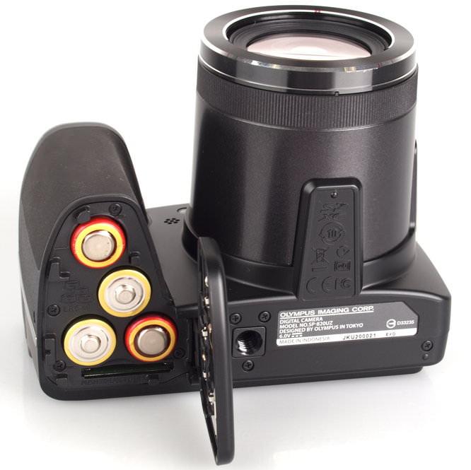 Olympus Sp 820 Batteries