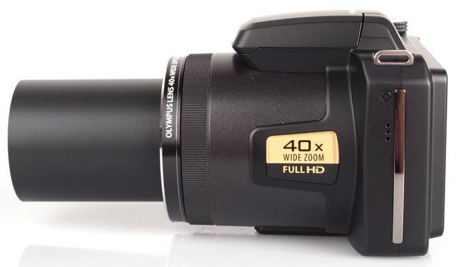 Olympus Sp 820 Lens Extended 1