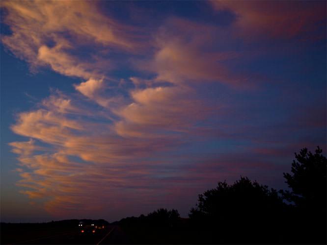A pretty good sunset
