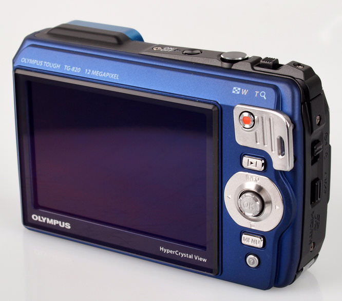 Olympus Tough Tg-820 Rear